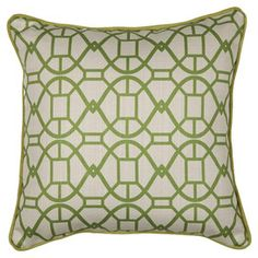 Pillow in Chartreuse