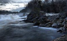 8. Rumford Falls, Oxford County