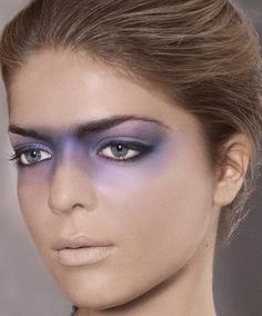My catwalk makeup.  MUA: Melissa Simon-Hartman  Neckpiece: Simon- Hartman London www.simon-hartman.com