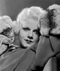 Jean Harlow. Photo by George Hurrell, 1932.