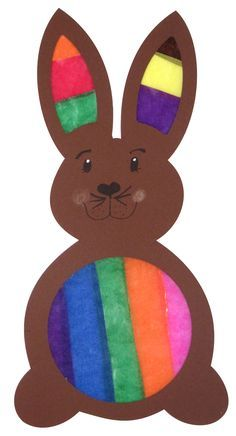 Craft set window picture rabbit pre-punched, 7 pieces window picture Decorate your windows with our pre-cut. Toddler Crafts, Diy Crafts For Kids, Decoration Restaurant, Rose Cuttings, Easy Easter Crafts, Creative Thinking, Artisanal, Rabbit, Projects To Try