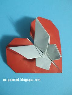 Origami Is For Everyone: Heart with butterfly - Andrey Lukyanov