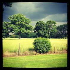 #paysage du #sudmayenne #contraste