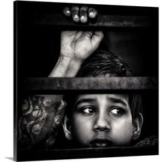 "Canvas On Demand On the Dark Side by Piet Flour Photographic Print on Canvas Size: 24"" H x 24"" W x 1.25"" D"