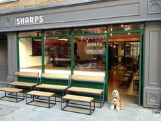 Sharps Coffee Bar in Fitzrovia, Greater London