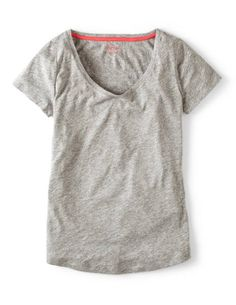 Lightweight V-neck WL900 Tees at Boden