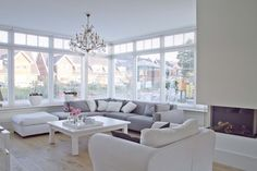 Blanco con gris y suelo marron Jeannette uit Harderwijk - vtwonen