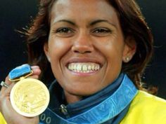 Cathy Freeman- Olympic Athlete (Gold Medallist) and Australian of the Year Aboriginal People, Aboriginal History, Aboriginal Art, 2000 Olympics, Sports Personality, Star Wars, Olympic Athletes, The Most Beautiful Girl, Special People
