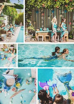 believe in mermaid | fire and creme kids, mermaid party | photos by sophie jacobson/love bucket photo