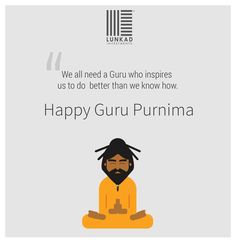 Lunkad Investments wishes you a very Happy गुरु पूर्णिमा . Because we all need a guru who inspires us to do better than we know how. Happy Guru Purnima, Hindu Festivals, Brand Story, Indian Gods, Wardrobes, Wish, Investing, Art Gallery, Graphics