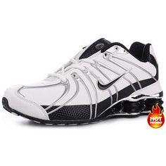 Mens Nike Shox OZ White Black Cheap Nike 186084ef7