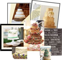 How to incorporate your cake into your wedding theme?