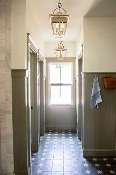 Olive Green Paints, Olive Green Walls, Best Paint Colors, Paint Colors For Home, Wall Colors, Bead Board Walls, Bead Board Bathroom, Beadboard In Bathroom, Master Bathroom