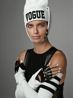 #AdrianaLima by #StevenMeisel for #VogueItalia June 2014