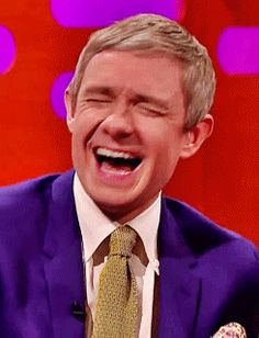 Martin laughing is the greatest
