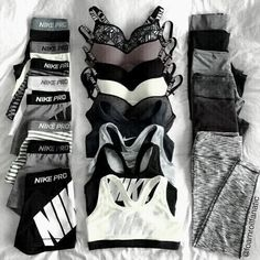 Trendy Fitness Kleidung Outfits Workout Leggings Active Wear Ideen fitness clothes clothes cute clothes for women clothes lululemon Cute Lazy Outfits, Trendy Outfits, Summer Outfits, Cute Nike Outfits, Athletic Outfits, Athletic Wear, Teen Fashion Outfits, Sport Outfits, Gym Outfits