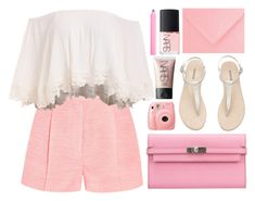 """""""pink princess"""" by charli-oakeby ❤ liked on Polyvore featuring STELLA McCARTNEY, Hermès, NARS Cosmetics, Accessorize, Summer and happy"""