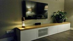 Segmented Log Lamp