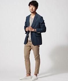 テーラードジャケットは着回し力抜群の黒か紺を選ぼう | メンズファッションマガジン +CLAP Men