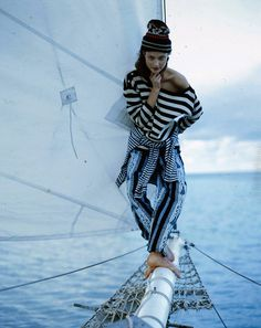 Photos: Smooth Sailing: The Best of Nautical Style from the Vogue Archives – Vogue