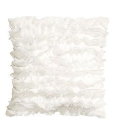Ruffled Cushion Cover | Product Detail | H&M