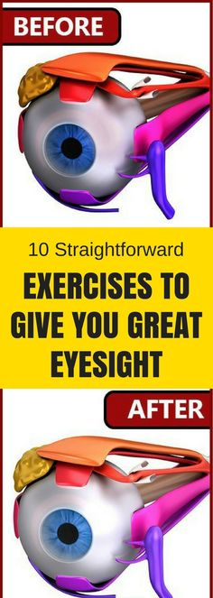 Here 10 Straight Forward Exercises, To Give You Great Eyesight!!! - Way to Steal Healthy