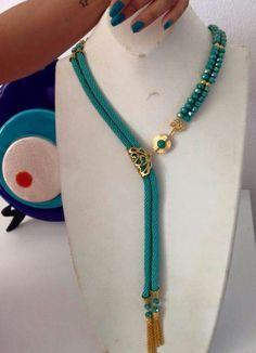Yes – - new season bijouterie Rope Jewelry, Seed Bead Jewelry, Bead Jewellery, Trendy Jewelry, Bridal Jewelry, Beaded Jewelry, Handmade Jewelry, Fashion Jewelry, Beaded Bracelets