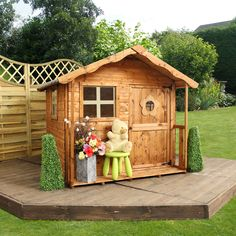 Wooden Playhouse The Playhouse Features A Door Made With Weather Resistant Wood  Big Backyard Bayberry Ready To Assemble Wooden Playhouse