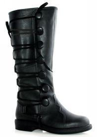 Renaissance or Steampunk Black Boots Mens