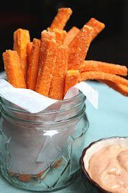 A Teaspoon and A Pinch: Food Rule 45 and Crispy Sweet Potato Fries