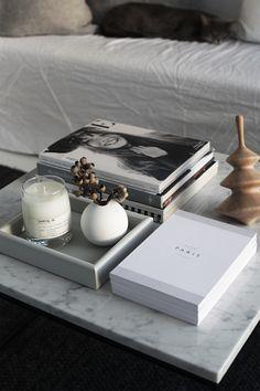 Рождество дома Норвежский дизайнер интерьеров, стилист и блоггер Элизабет Heier в источает спокойствие и спокойствие только с правильным количеством праздничного декора вокруг