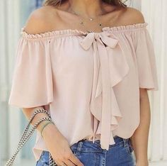healthy living tips wellness programs for women Casual Dresses, Fashion Dresses, Young Fashion, Off Shoulder Blouse, Summer Outfits, Crop Tops, My Style, Womens Fashion, How To Wear