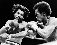 Roberto Duran (Hands of Stone) vs Sugar Ray Leonard. I think in his prime Duran was the best boxer of all time.