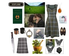 """""""Outlander"""" by puppylove7 ❤ liked on Polyvore featuring art"""