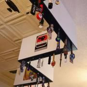 Cool Idea To Decorate The Ceiling With Bar Taps Maybe In The