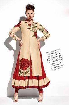 pakistani long koti dress - Google Search