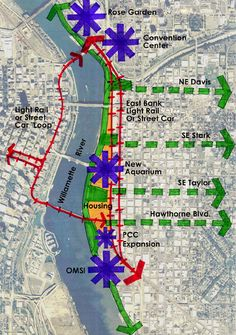 Urban Design Concept Diagram