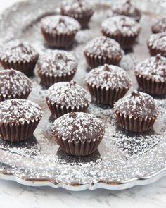 Candy Recipes, Dessert Recipes, Healthy Recepies, Fika, Crunches, Christmas Baking, Mini Cupcakes, Coffee Shop, Delicious Desserts