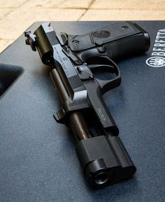 New Beretta Combat combo, pistol, guns, weapons, self defense Home Defense, Self Defense, Weapons Guns, Guns And Ammo, Fire Machine, Machine Guns, Beretta 92, Survival, Military Guns