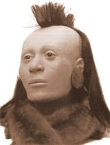 Facial reconstruction from Town Creek Indian Mound Native American Ancestry, Native American Art, American Indians, American History, Forensic Facial Reconstruction, Georgia Girls, Forensic Anthropology, What Lies Beneath, American Pride