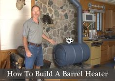 NorthlineExpress sells the kit components that easily, and inexpensively, allows you to build your barrel heater. All you do is find your barrel and use the kit to assemble your own wood stove. This stove is a powerful heater, and can make your home or cabin toasty-warm during any winter season. Watch the video below …