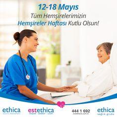 Hemşireler haftası kutlu olsun. #Hemşire #Sağlık #SağlıklıGüzellik #estethica #istanbul