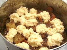 Old New Brunswick Kitchens' Beef Stew with Dumplings (Doughboys)
