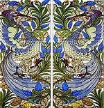 william morris tiles - Peacock tiles