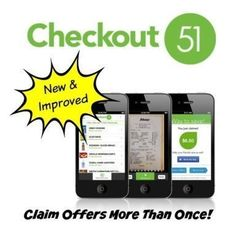 If you've been using Checkout 51, you know that the one downside is that you can only claim that offer one time.  Well, good news!  There will now be select offers which allow you to claim them more than once!