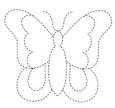 The Latest Trend in Embroidery – Embroidery on Paper - Embroidery Patterns Applique Templates, Applique Patterns, Applique Quilts, Applique Designs, Quilting Designs, Embroidery Designs, Owl Templates, Butterfly Quilt, Butterfly Template