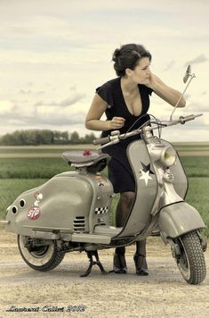 LolaBean & Stuff: Scooter Chick