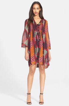 Diane von Furstenberg 'Layla' Print Silk Dress available at #Nordstrom