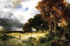 Autumn, Peconic Bay, Long Island, 1904 Moran, Thomas Painting Reproductions