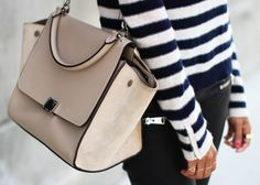 In love with this Trapeze! <3 via Sincerely, Jules: So Striped. Celine Trapeze!